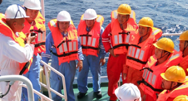 Required courses in the field of maritime safety